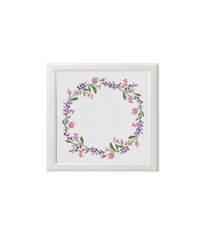 Floral Wreath Pattern