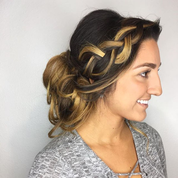Mocha Brown with Toffee Balayage