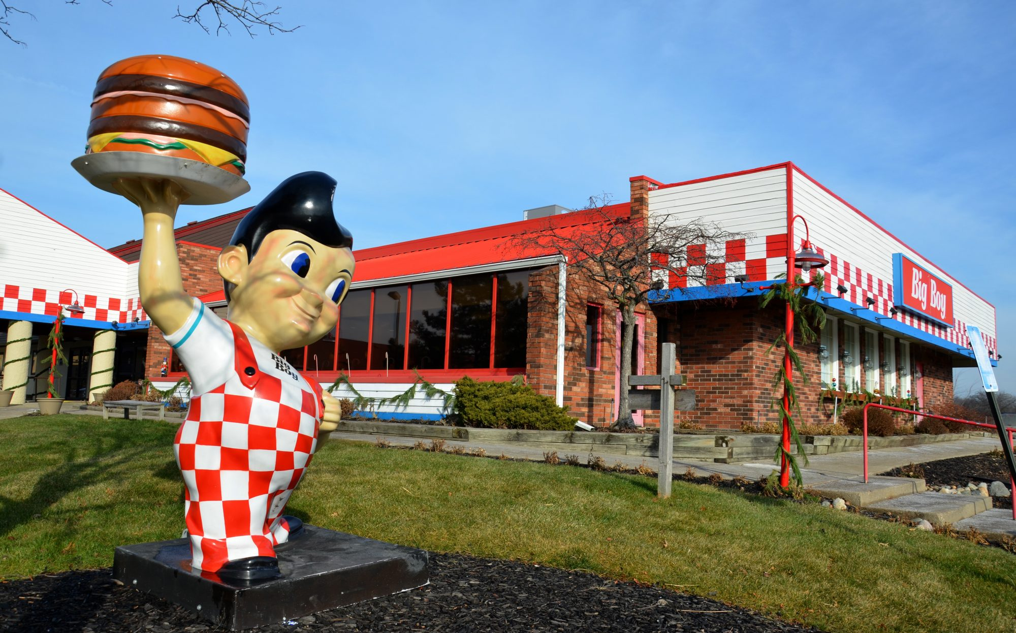Big Boy, whose north Ann Arbor location is shown on December 22, 2014, has over 100 restaurants in the United States.