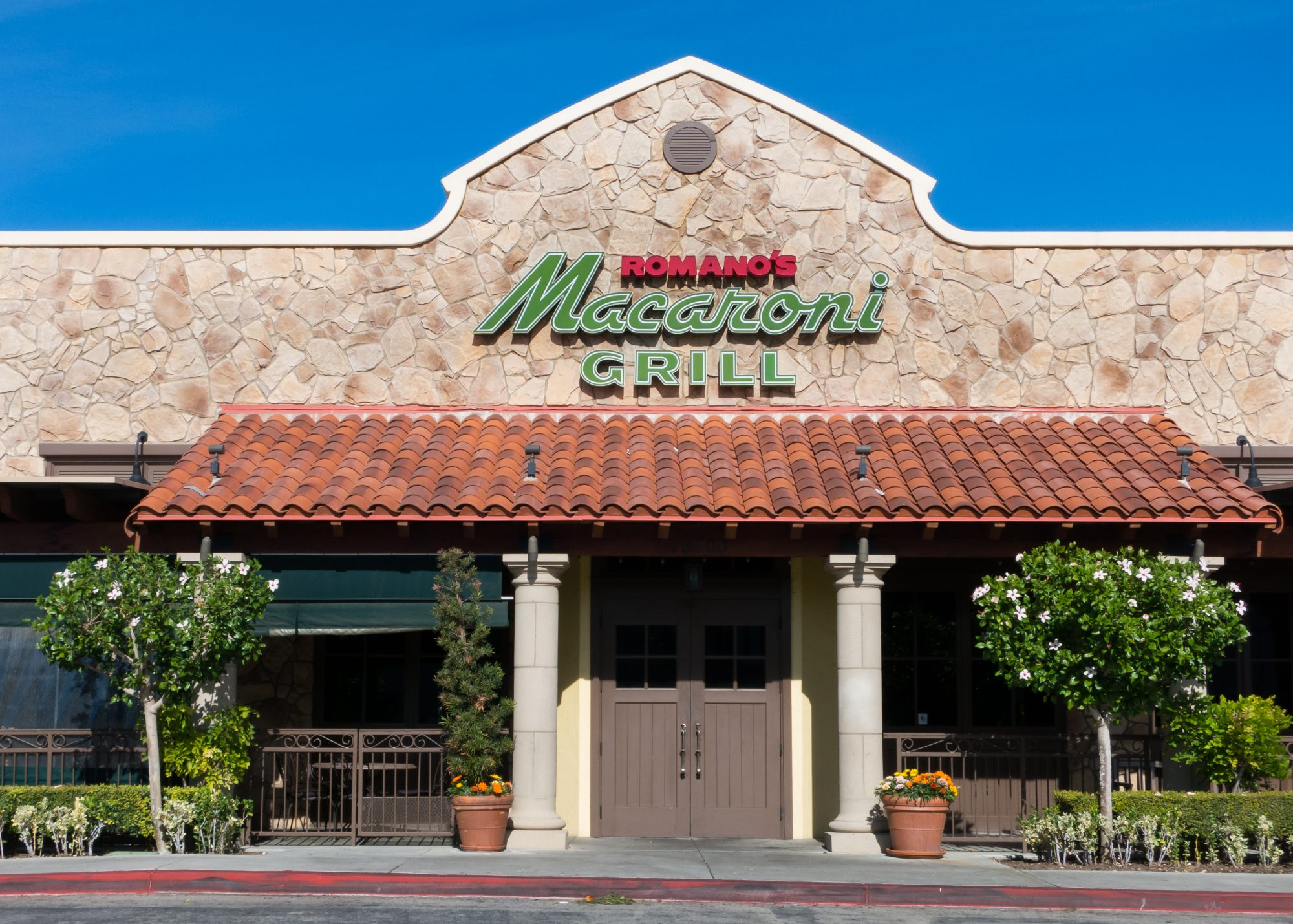 Romano's Macaroni Grill , Northridge, California, November 24, 2014.