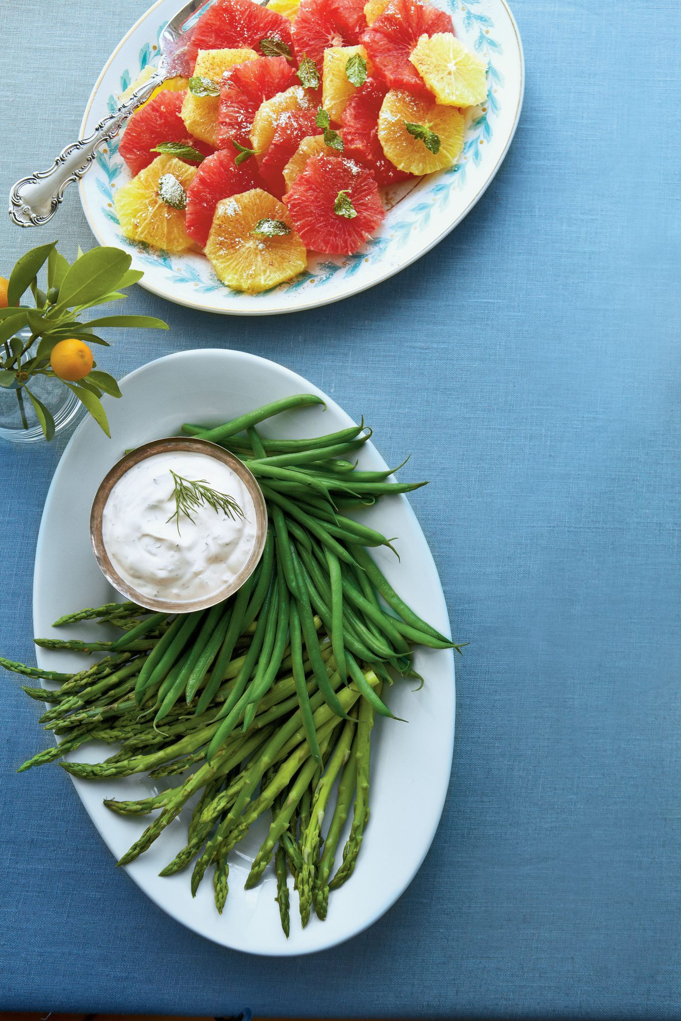 Herbed Dip with Baby Vegetables