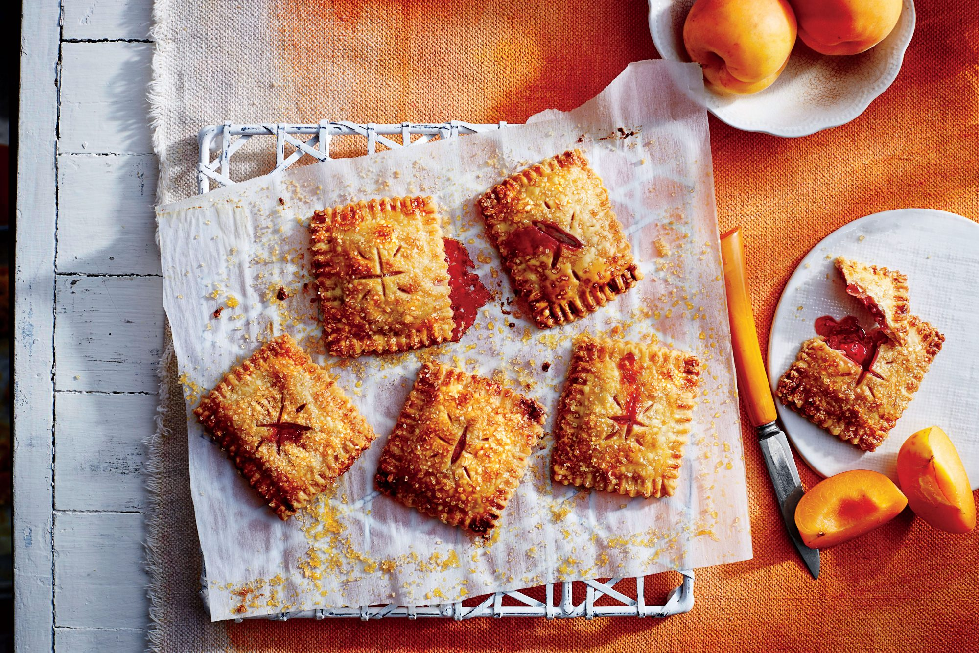 Strawberry-Apricot Hand Pies Recipe Pam Lolley