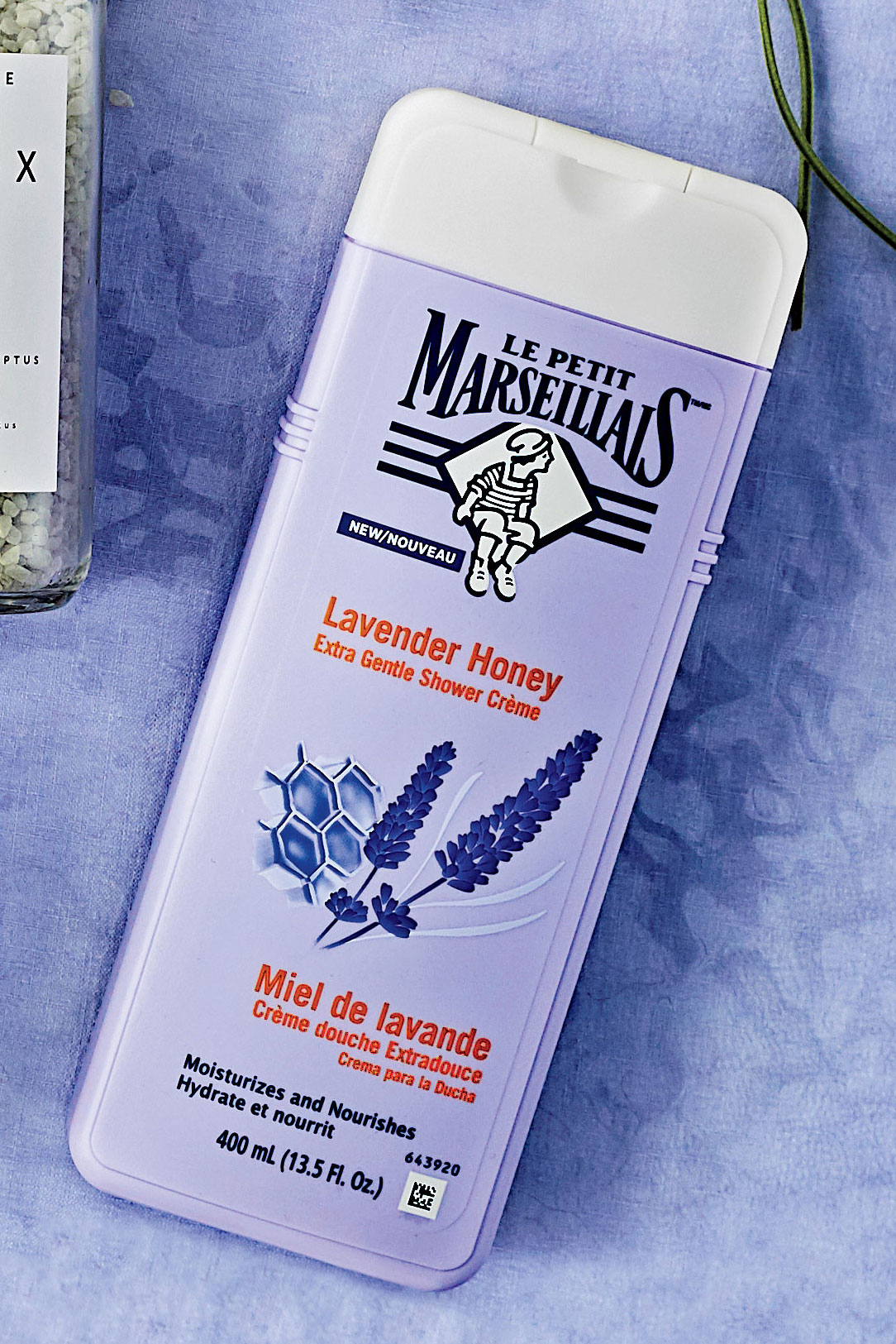 Le Petit Marseillais Lavender Honey Extra Gentle Shower Crème