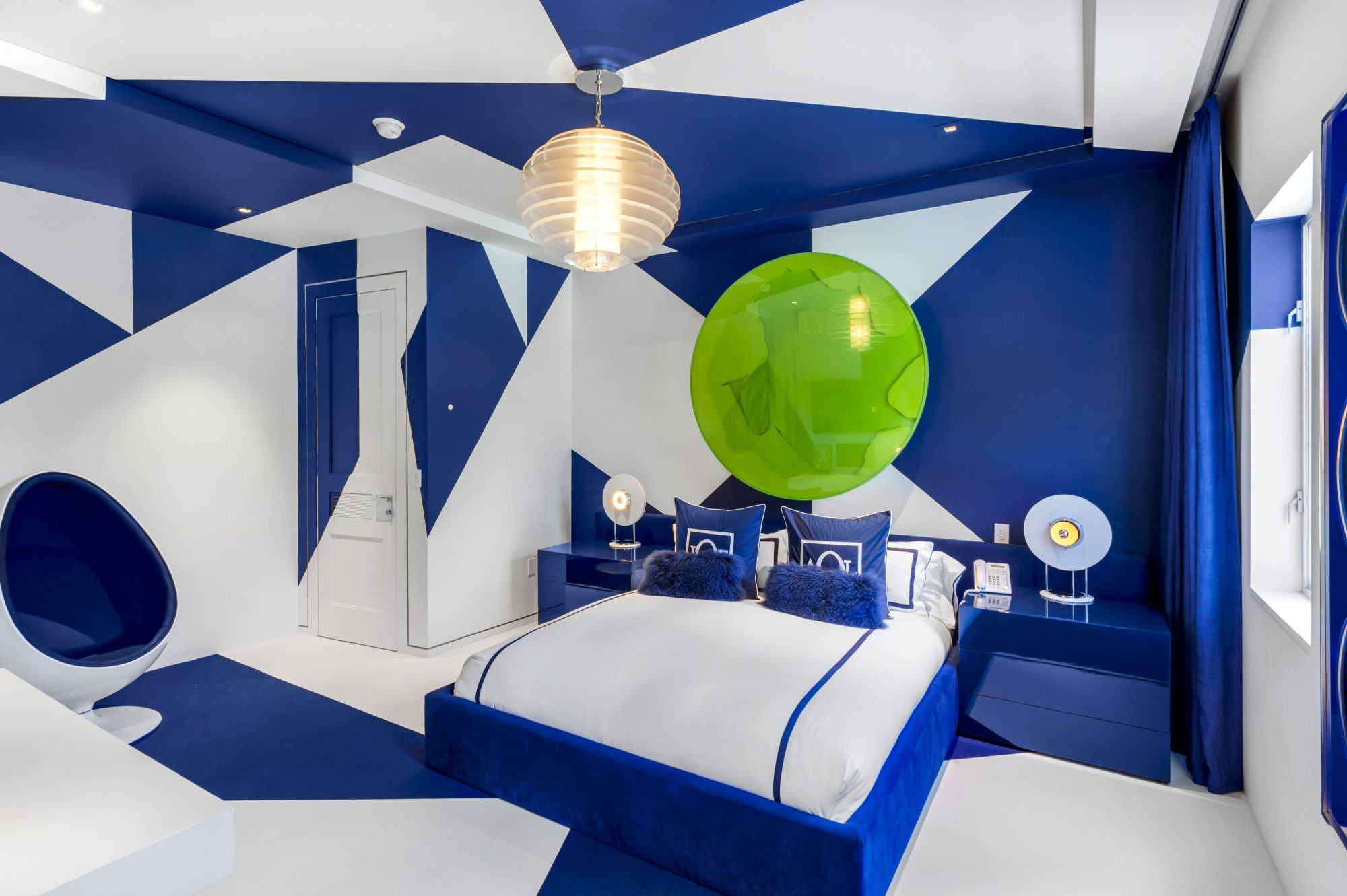 Tommy Hilfiger Mansion Blue Bed