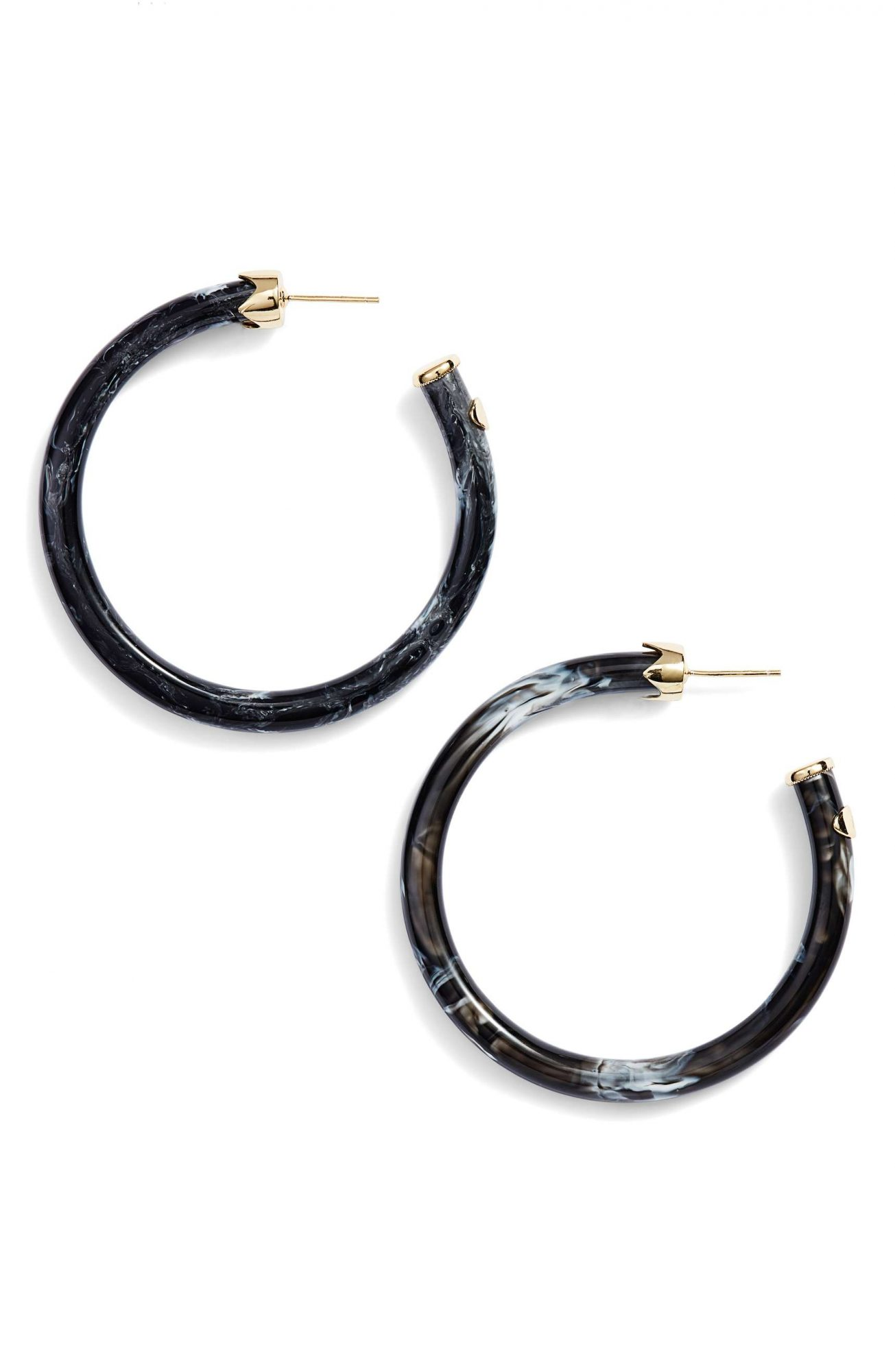 Resin Earrings Are the Only Accessory You Need to Buy for Spring argento-vivo-nordstrom
