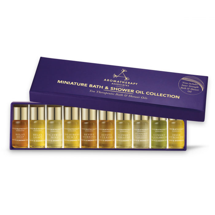 Miniature Shower & Bath Oil Collection