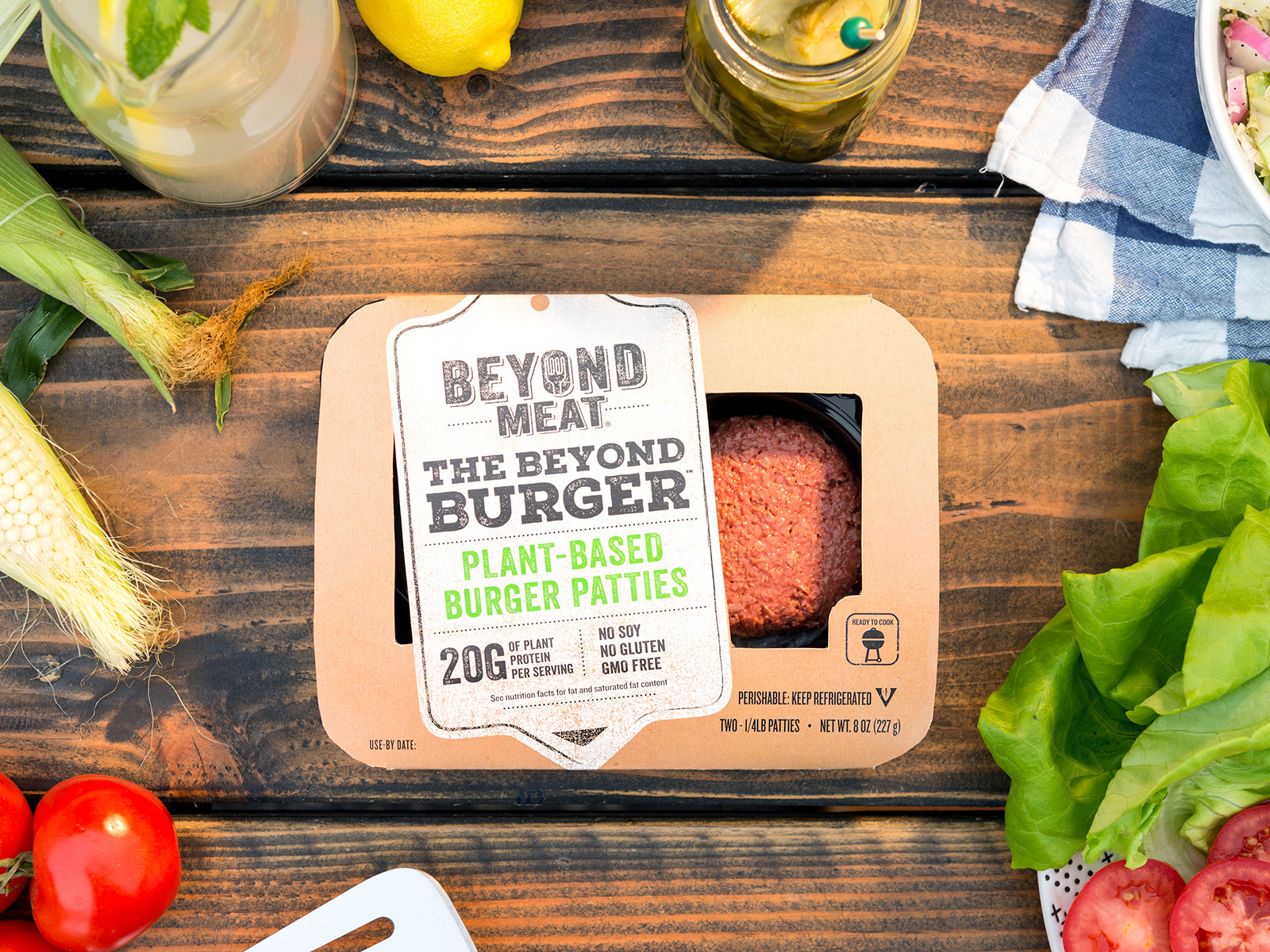beyond meat packaging overhead