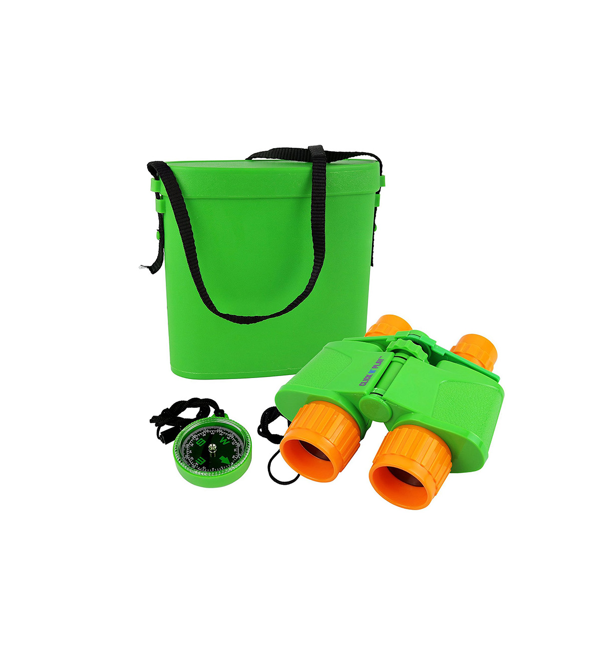 Click N' Play Nature and Wildlife Exploration Binocular Set