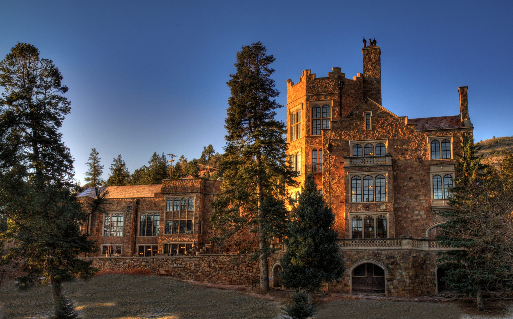 Glen Eyrie Castle in Colorado Springs, Colorado
