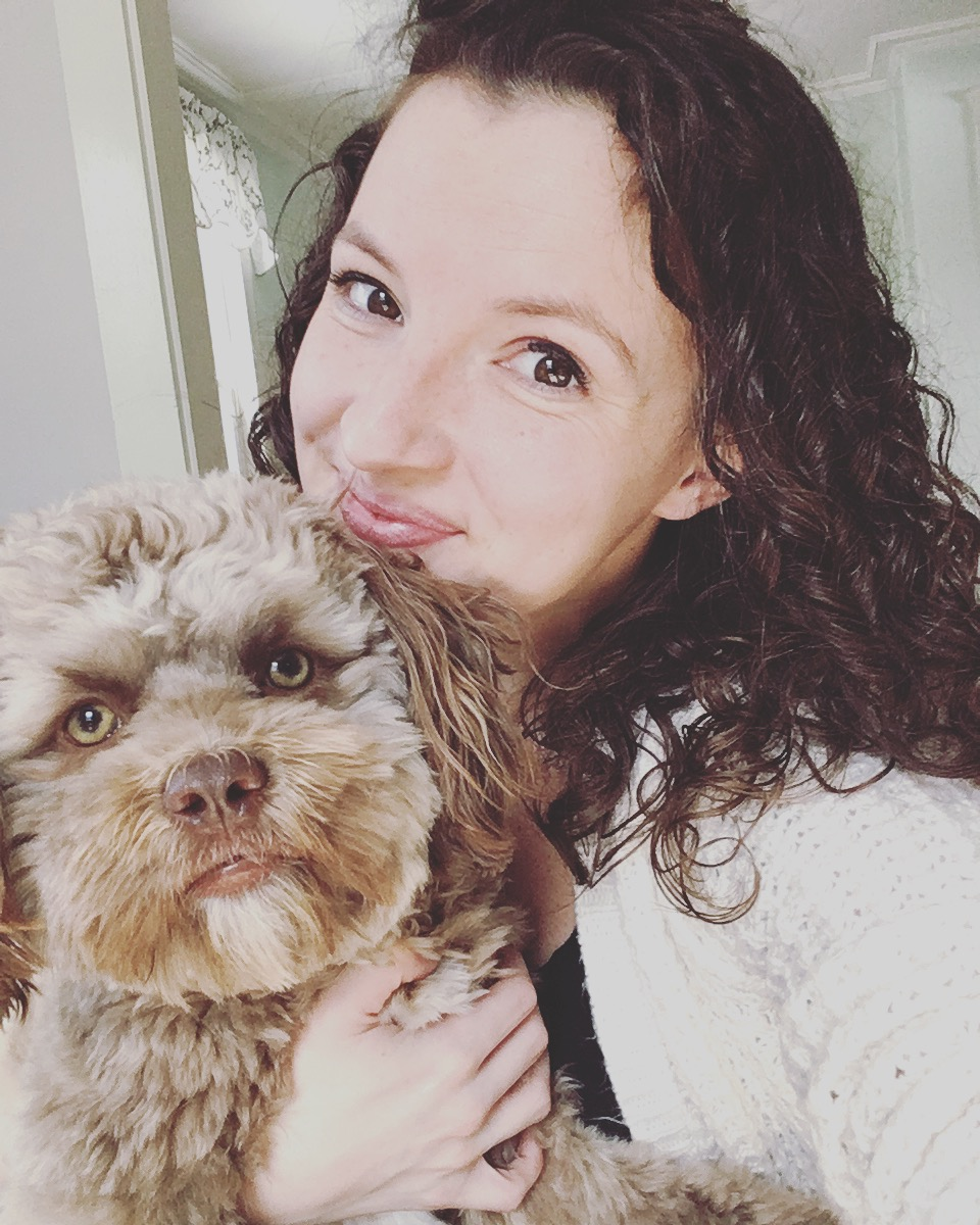 The Internet Is Barking Up a Storm About This Dog with an Incredibly Human Face chantalyogi_chantaldesjardins