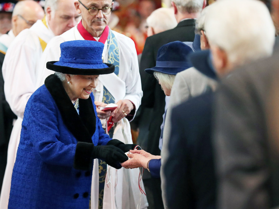 Prince Philip Abruptly Cancels Maundy Church Service with the Queen Prompting Health Fears elizabeth-6