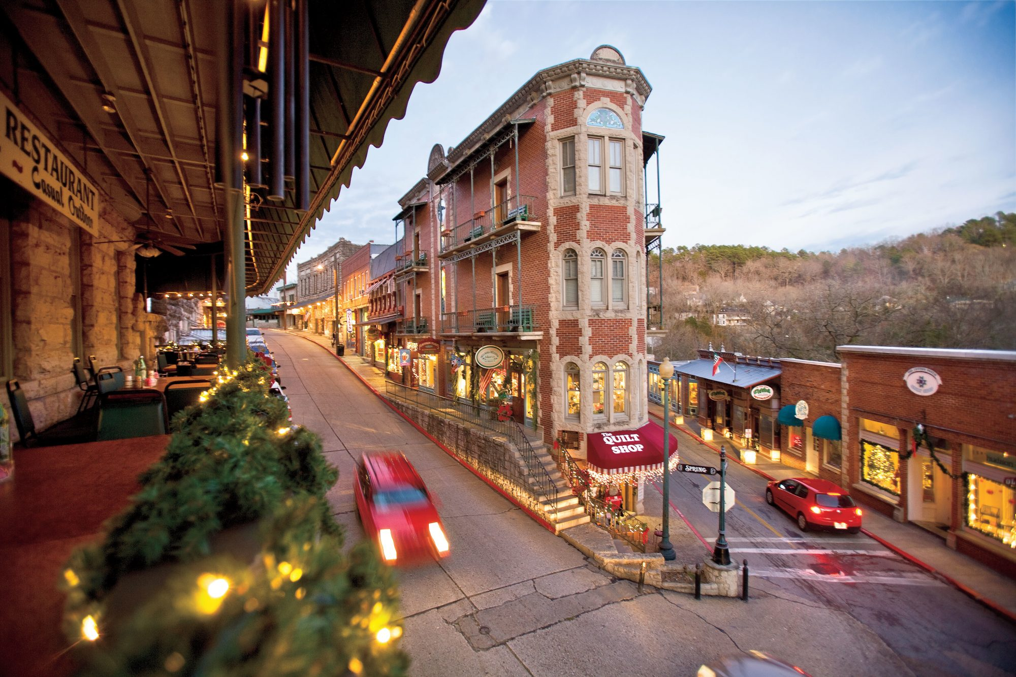 13. Eureka Springs, Arkansas