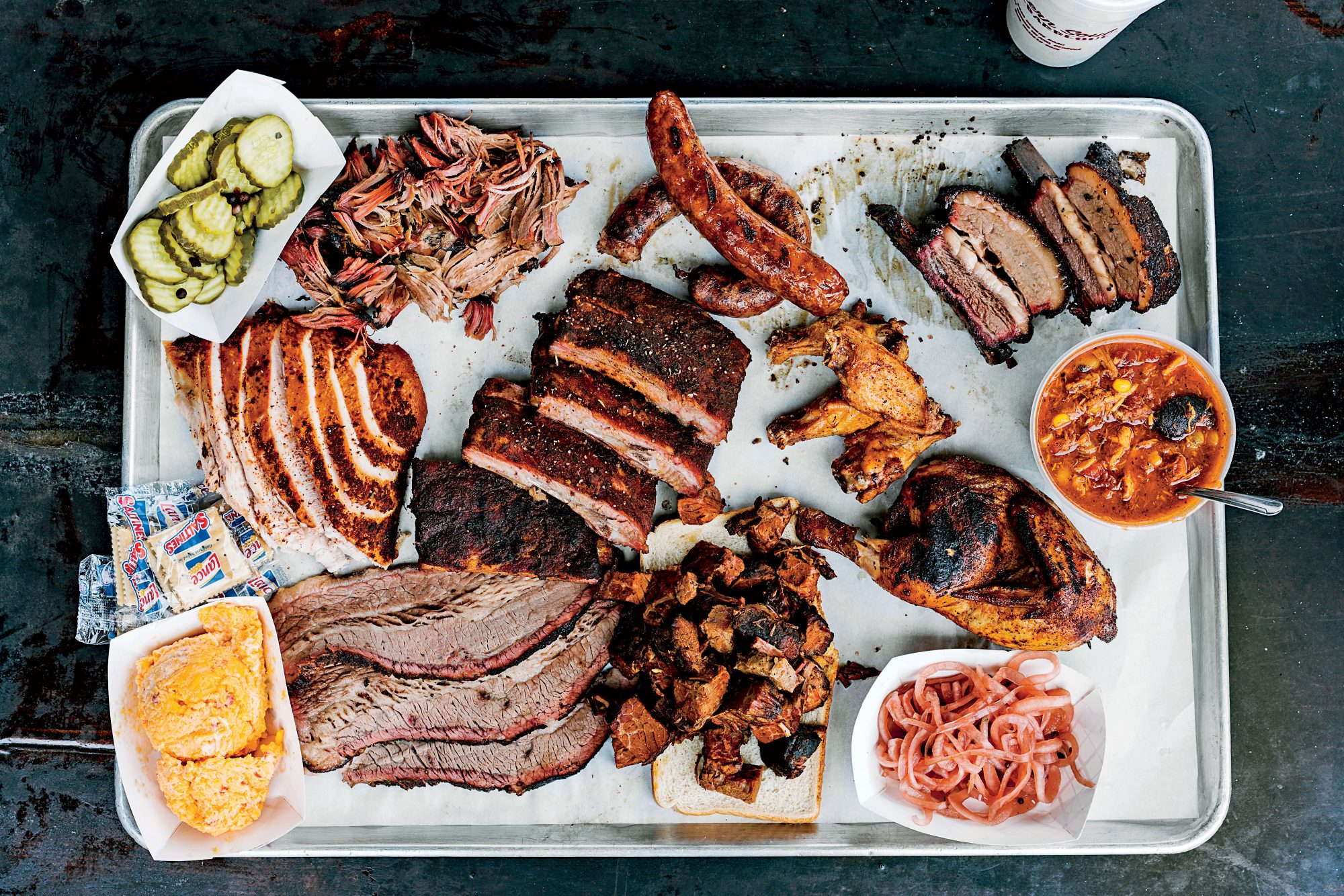 Southern Soul Barbecue Platter