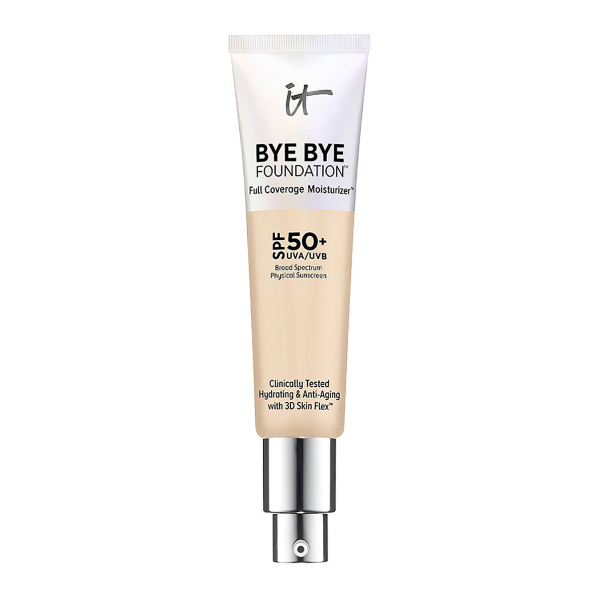 It Cosmetics Bye Bye Foundation Full Coverage Moisturizer with SPF 50+