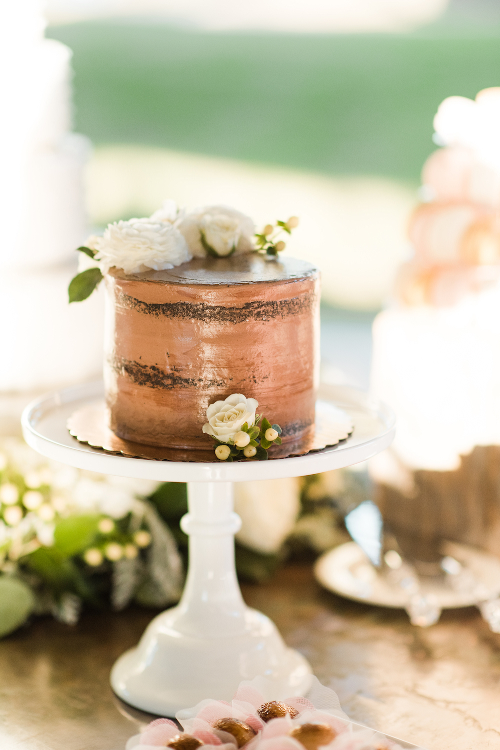 Chocolate Wedding Cake Design
