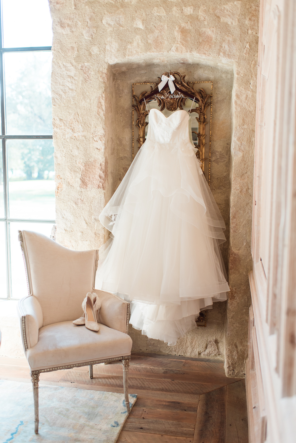 Ethereal Layered Wedding Dress