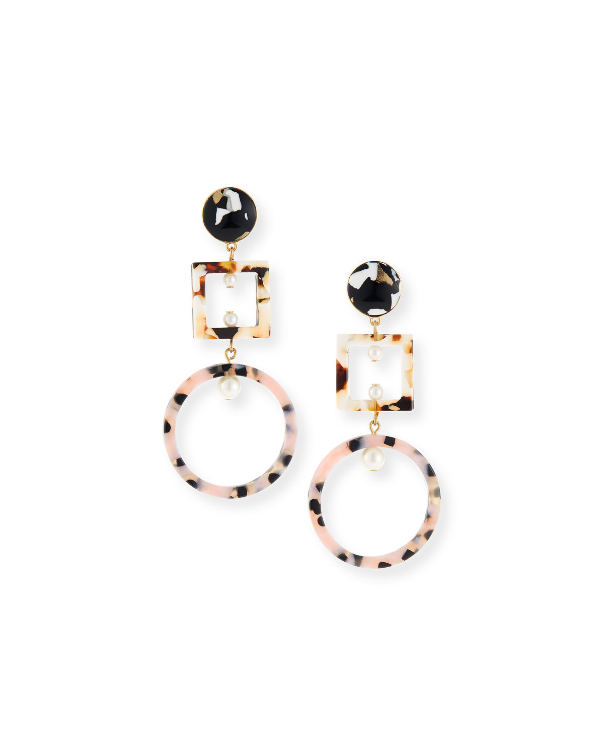 Resin Earrings Are the Only Accessory You Need to Buy for Spring lele-sadoughi-neiman-marcus