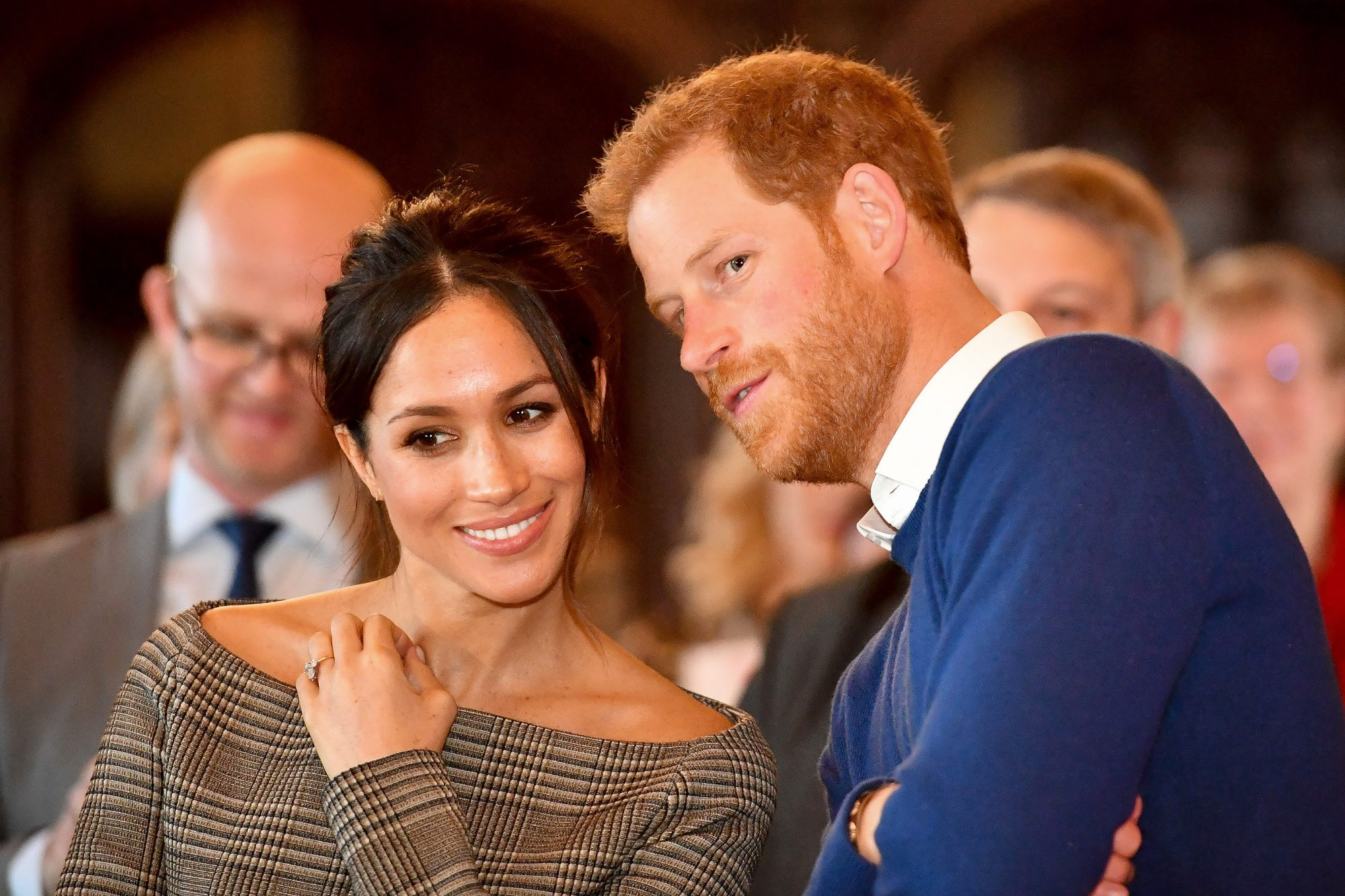 Meghan Markle Baptized Into the Church of England in Secret Ceremony Attended by Prince Harry markle-harry-1