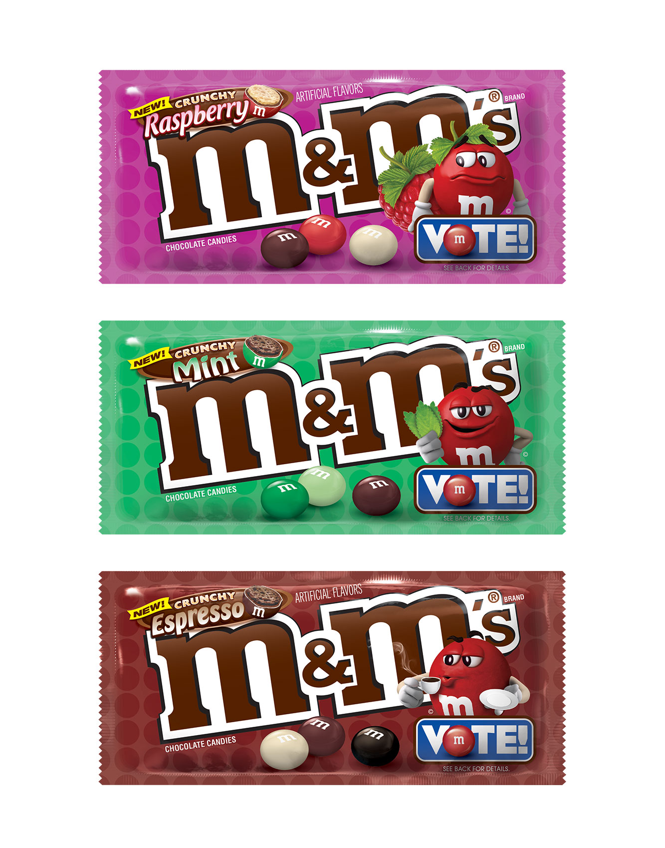 M&M's Is Rolling Out 3 New Flavors—But It's Up to Fans to Decide Which One Stays on Shelves mm