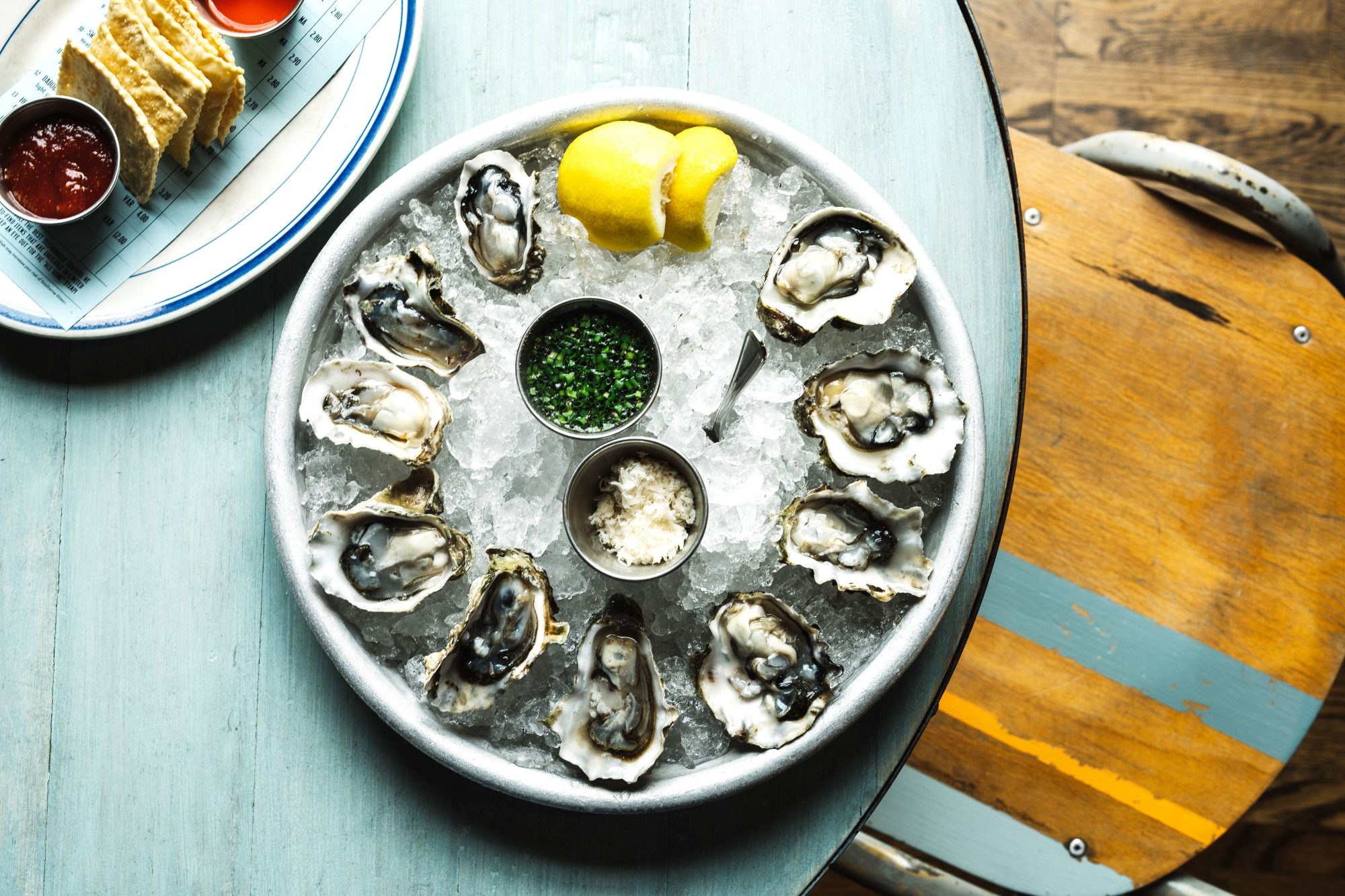 Oysters at The Optimist