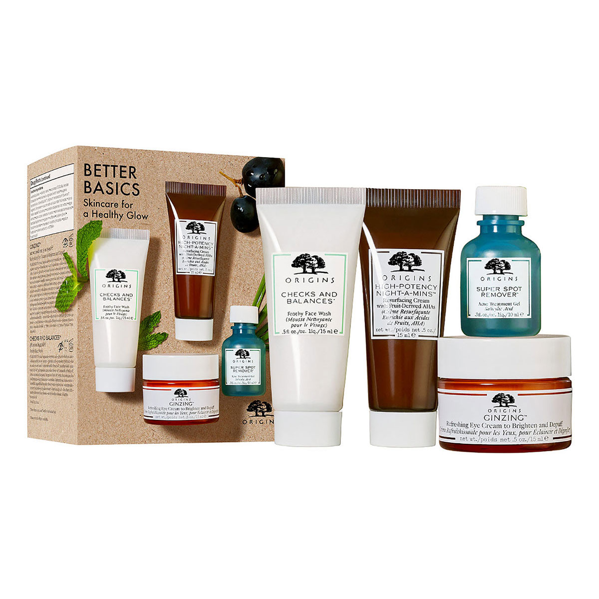 Origins Fresh-Faced Faves Set