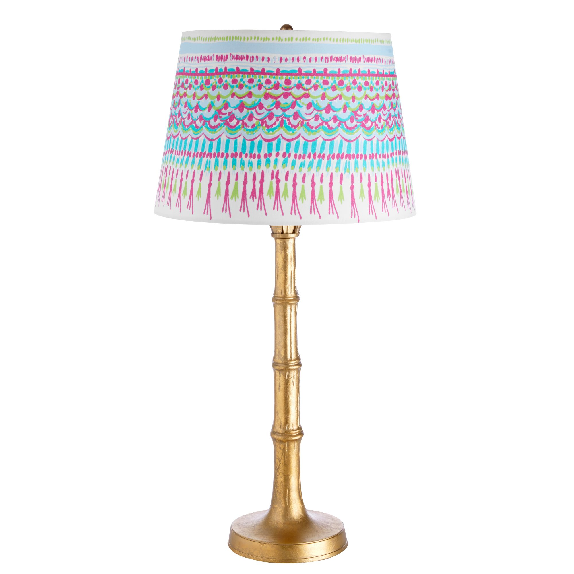 Polished Palm Table Lamp
