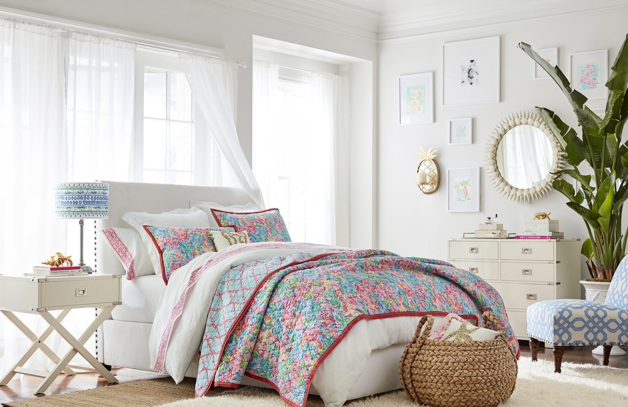 Pottery Barn x Lilly Pulitzer Is Here!
