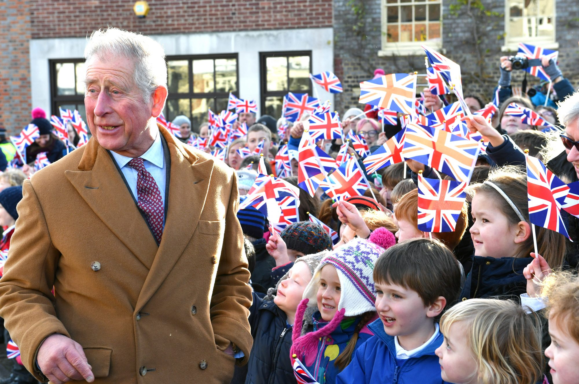The Prince Of Wales Tours The Ramsbury Estate