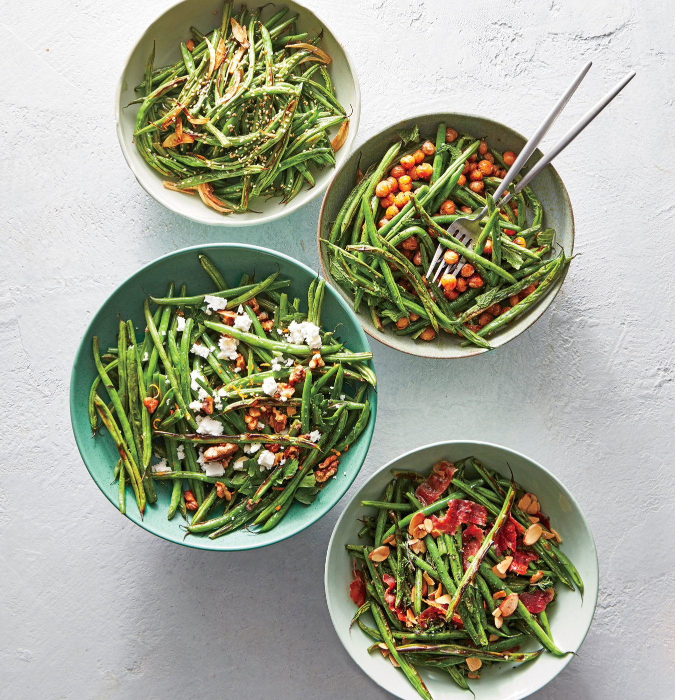 Prosciutto-and-Almond Green Beans
