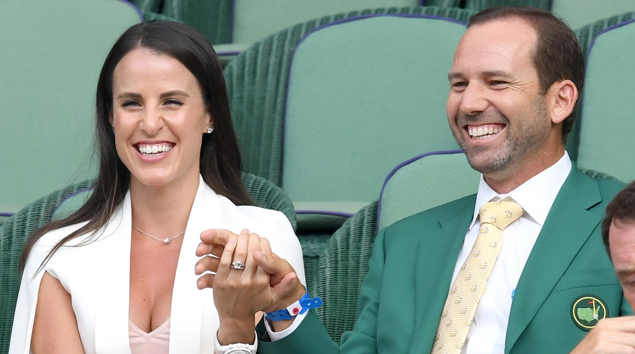 Sergio is a father! Garcia and wife Angela welcome baby girl into world