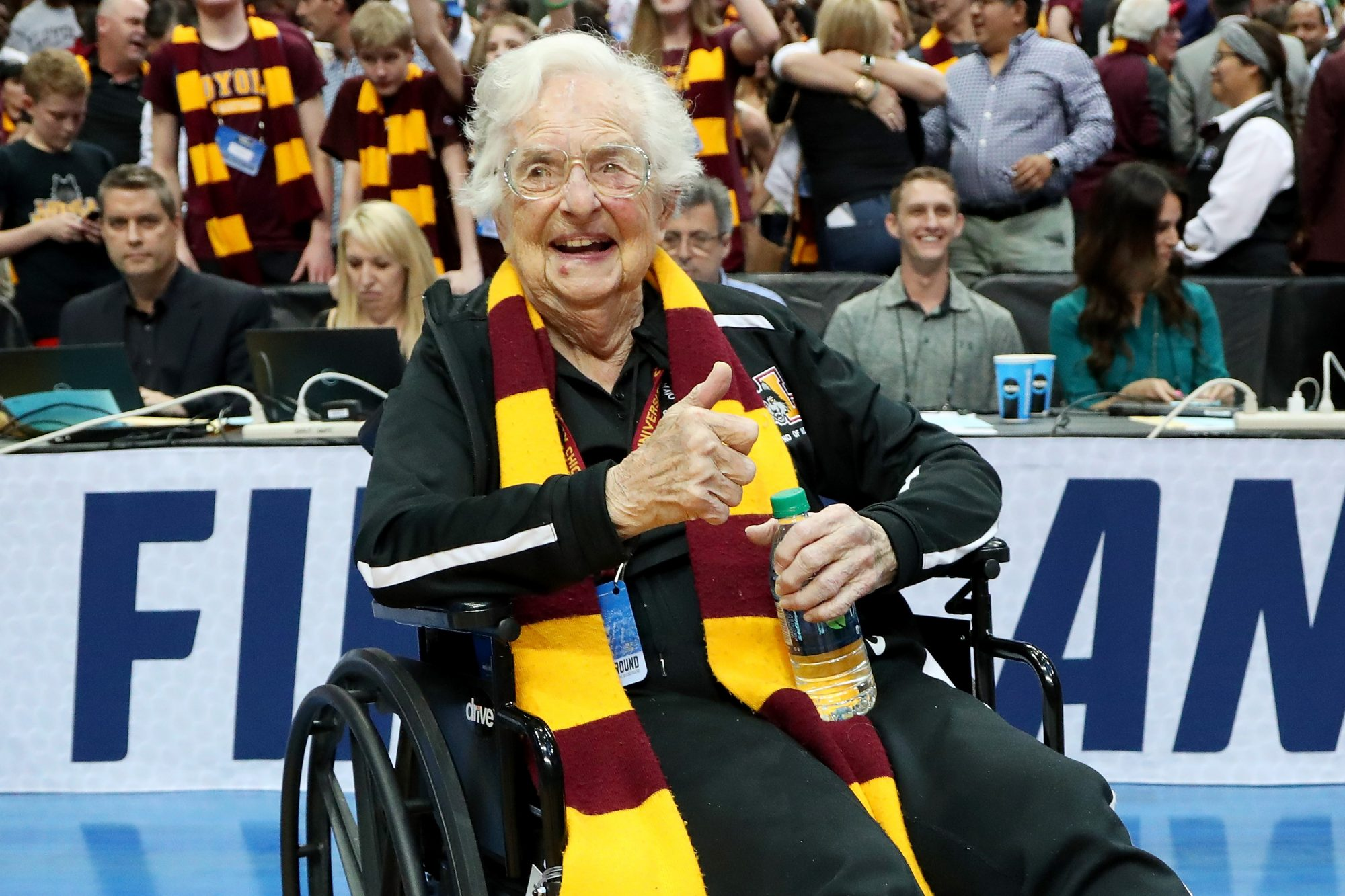 Sister Jean Thumbs Up
