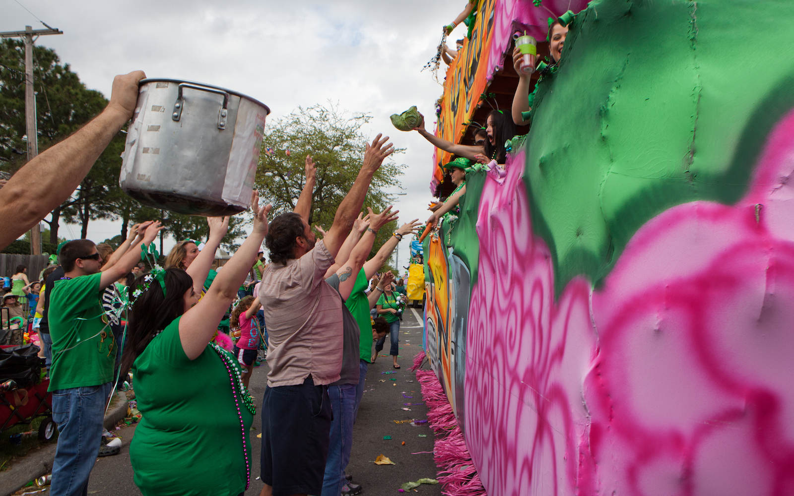 Celebrating St. Patrick's Day in New Orleans, Louisiana
