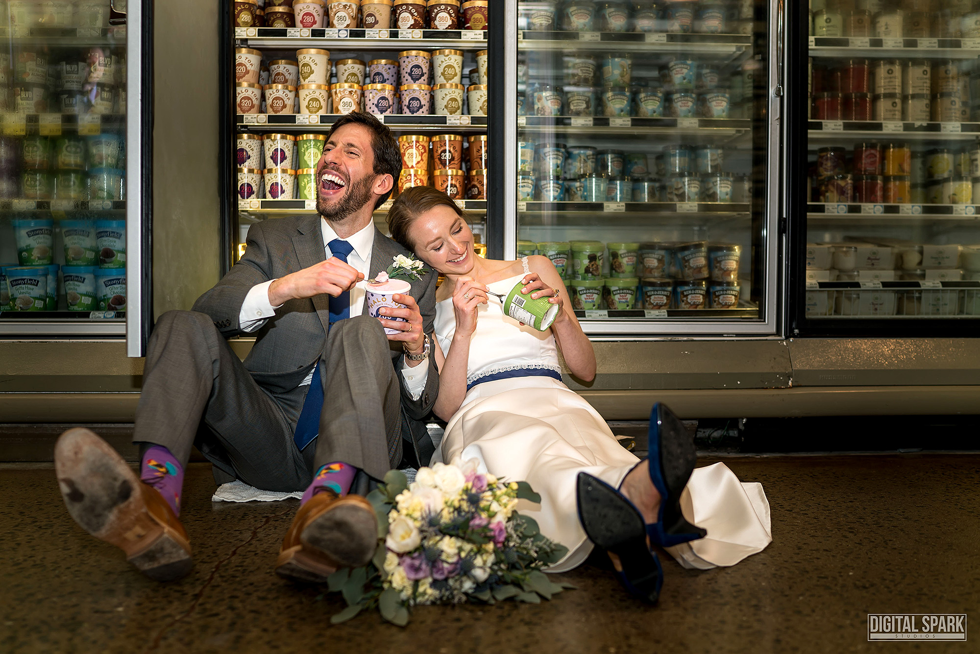 This Couple Loves Whole Foods So Much, They Got Married There whole-foods-wedding-1