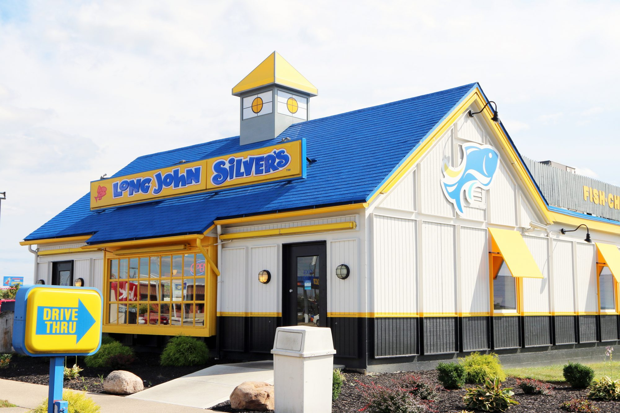 Long John Silver's seafood resaurant