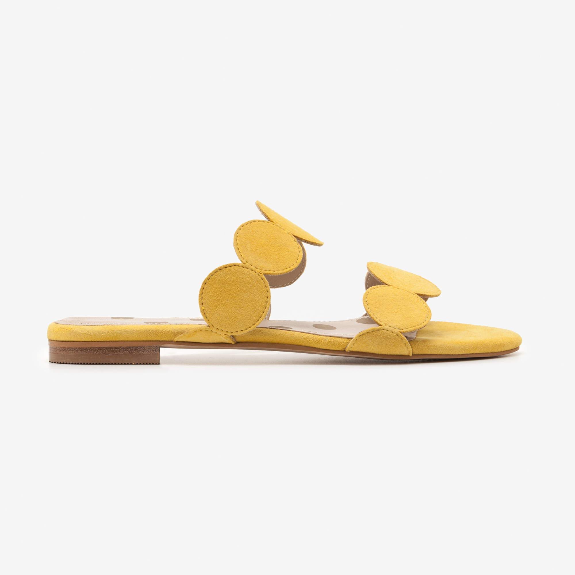 Boden Briana Slides in Mimosa Yellow