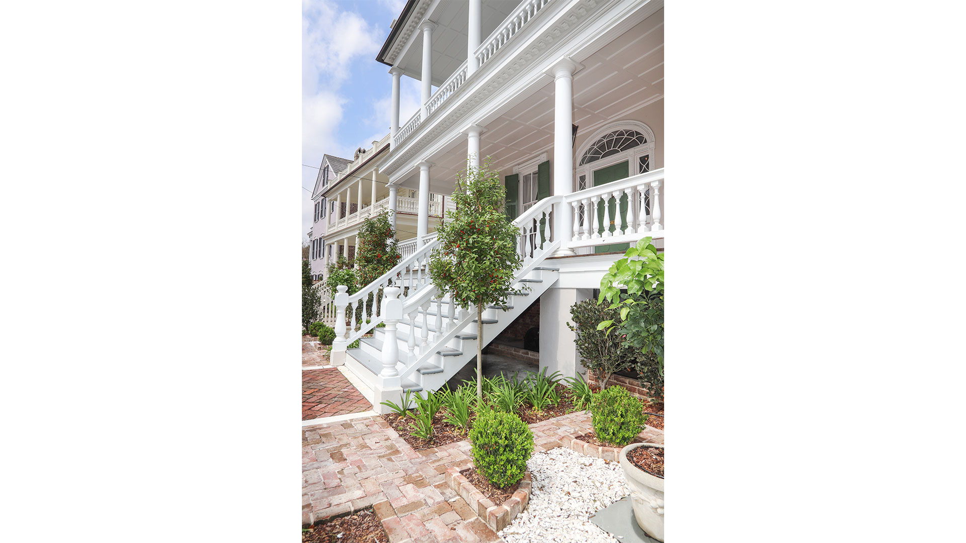 Southern Living 44 Battery Charleston Front Porch