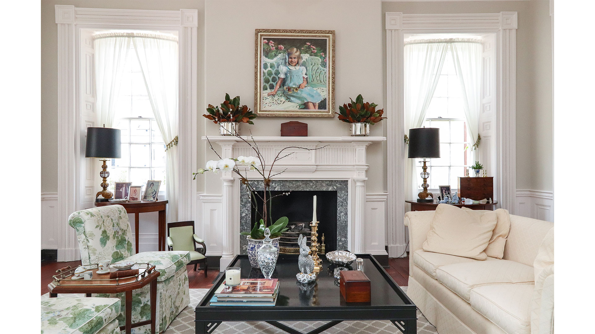 Southern Living 44 Battery Charleston Living Room