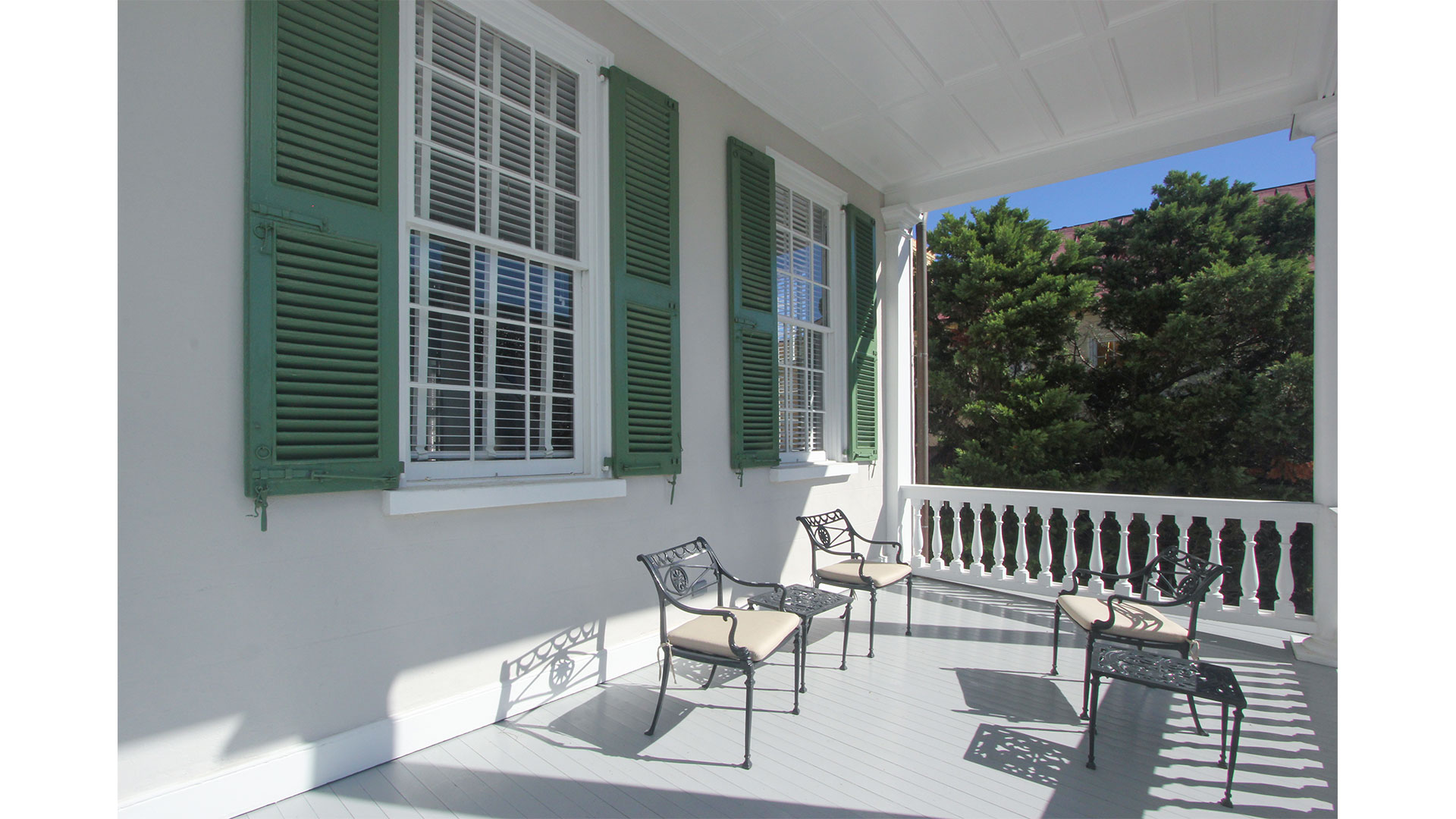Southern Living 44 Battery Charleston Second Floor Porch