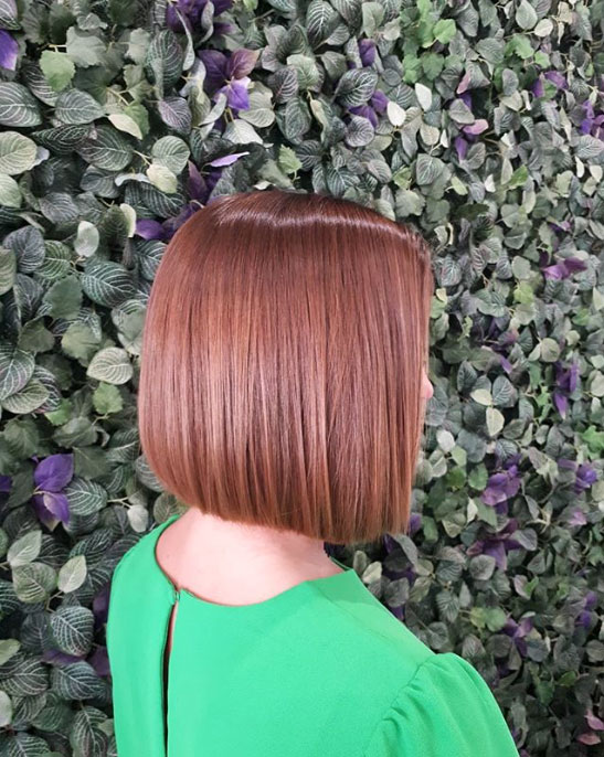 Rose Brown Bob