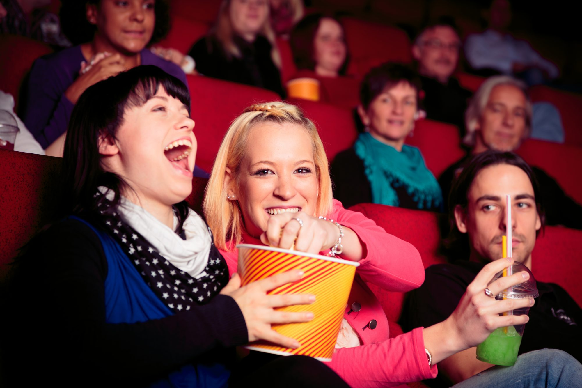 People at Movie Theater