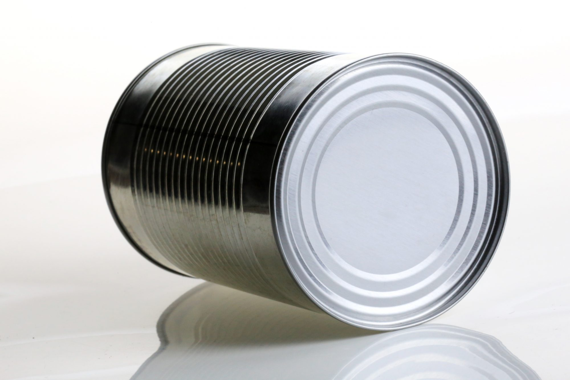 Unlabeled Canned Food