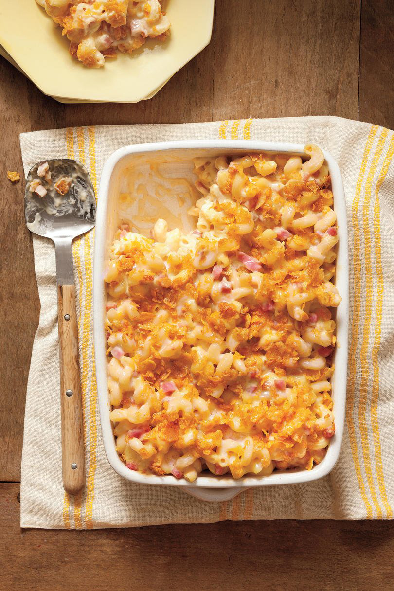 Mac and Cheese with Ham