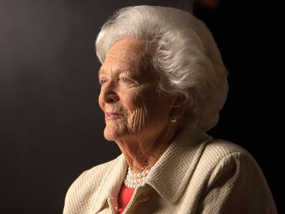 'Heartbroken' George H.W. Bush Leads Nation's Mourning at Funeral of Former First Lady Barbara Bush barbara-bush-1