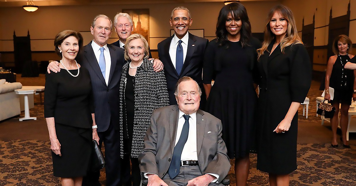 barbara-bush-funeral-barack-obama-michelle-obama-melania-trump