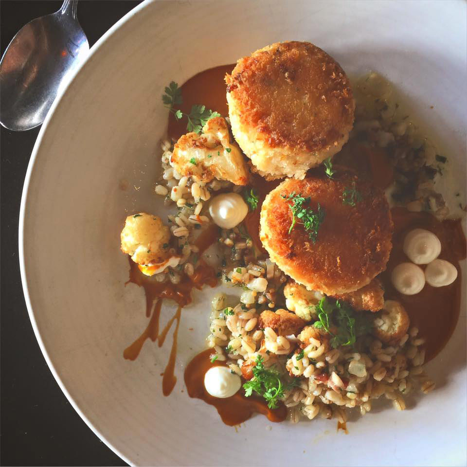 Tom Douglas, founder of Etta's, the bright and delicious seafood restaurant that looks out on Seattle's Pike Place Market, is a genius. Because no one prior to him had thought to take the sweet and tender meat of the Dungeness crab and use it to...