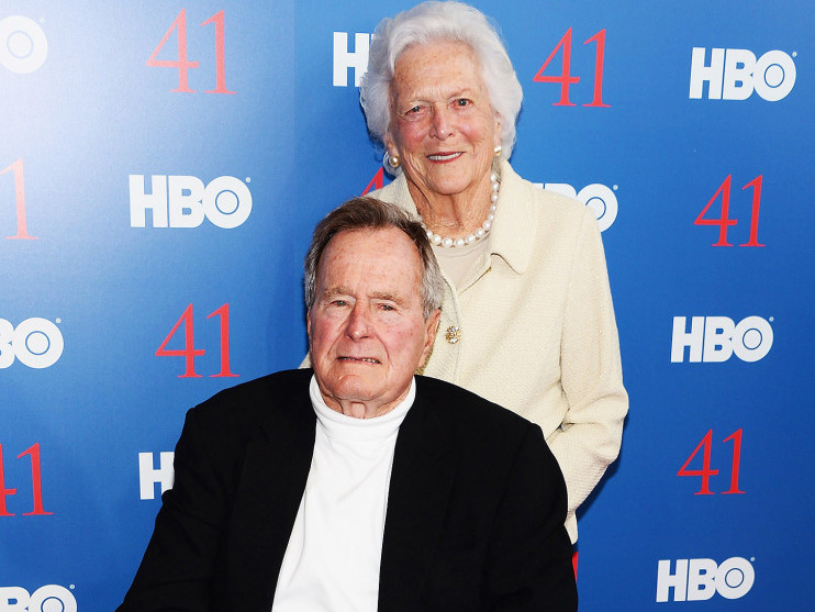 George H.W. Bush's Hospitalization After Barbara's Funeral Could Be Due to Broken Heart Syndrome george-bush