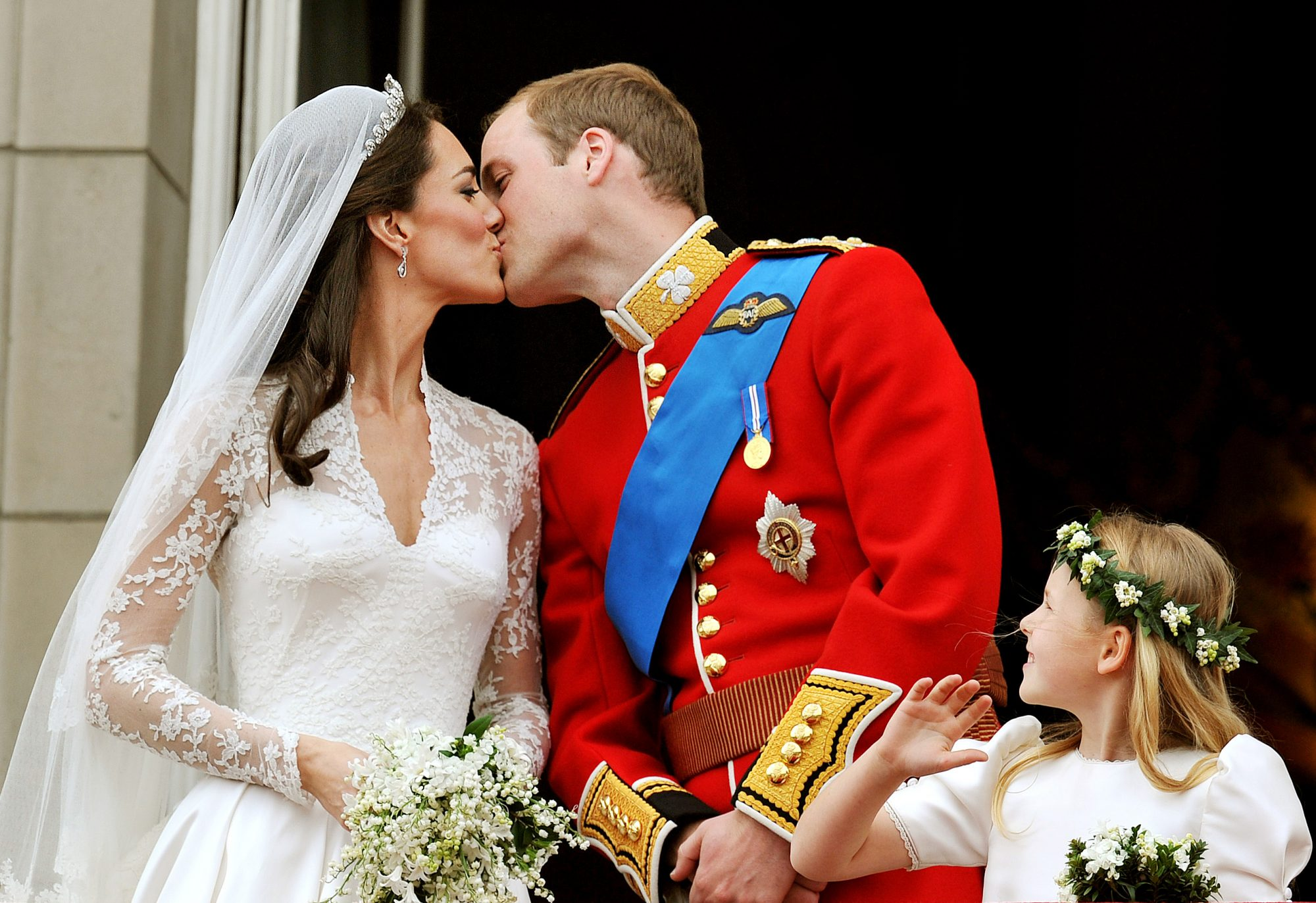 Prince William and Kate Middleton Celebrate Their Anniversary for the First Time as a Family of 5 gettyimages-113274298