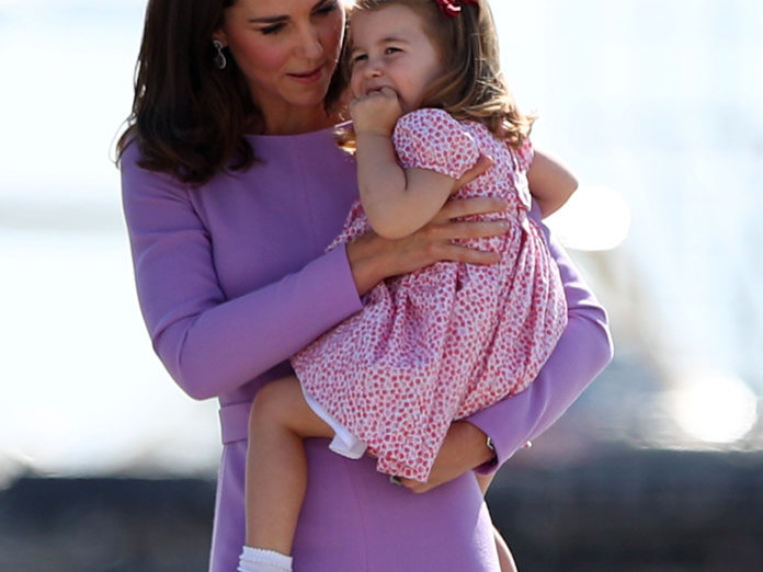 Kate Middleton Is Worried About How Princess Charlotte Will Adjust to the New Baby gettyimages-820233842