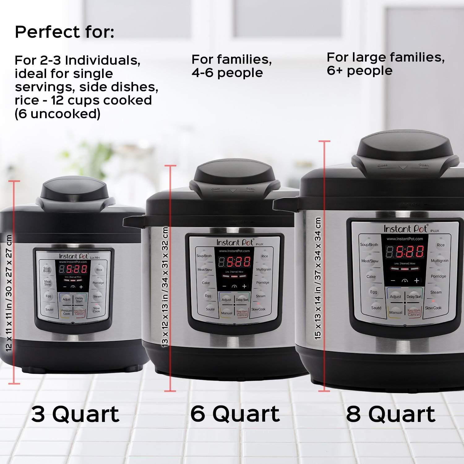 A Definitive Buying Guide for the Cult Favorite Instant Pot — Including the Fancy New 'Instant Pot Max' instantpot-duo