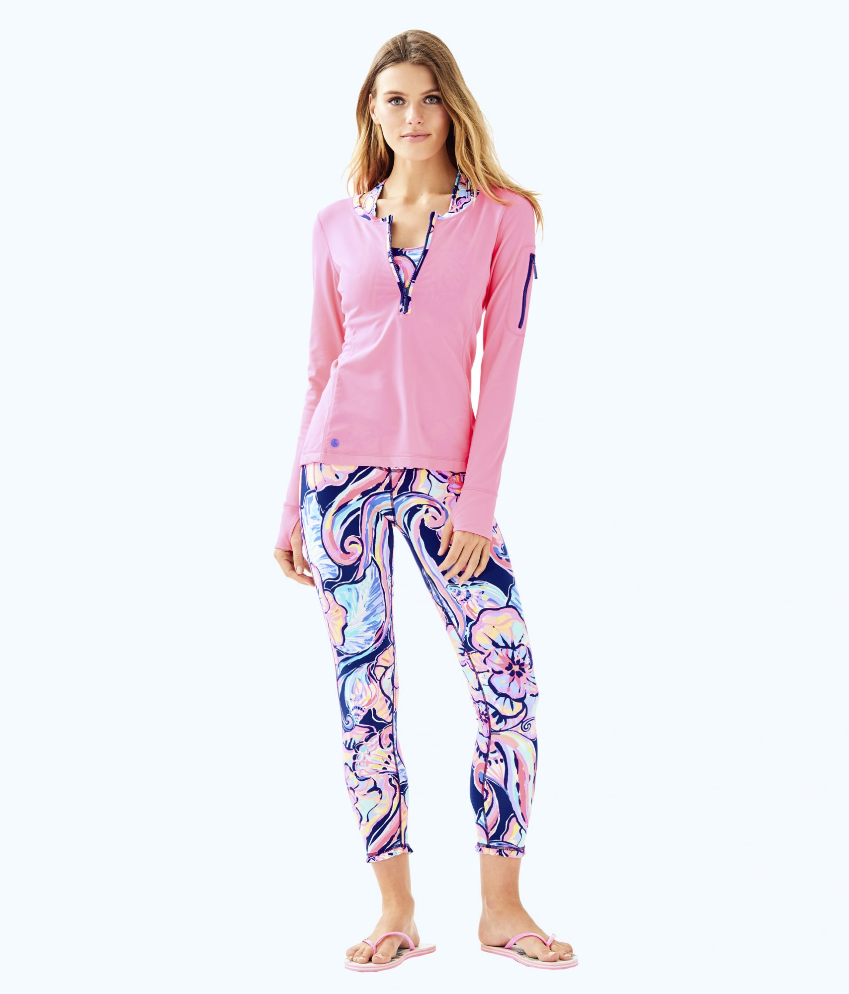 Lilly Pulitzer's Summer Collection Just Launched, Here's Everything We're Buying ASAP lilly-p-leggings